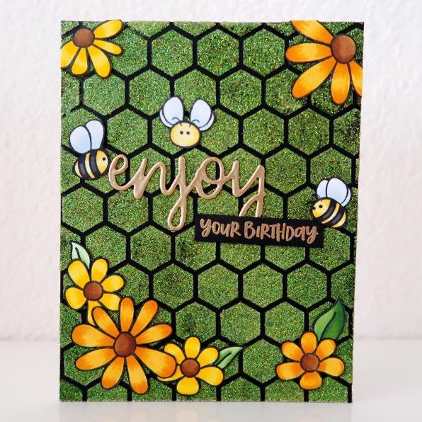 023_Honey Bee Stamps_Black