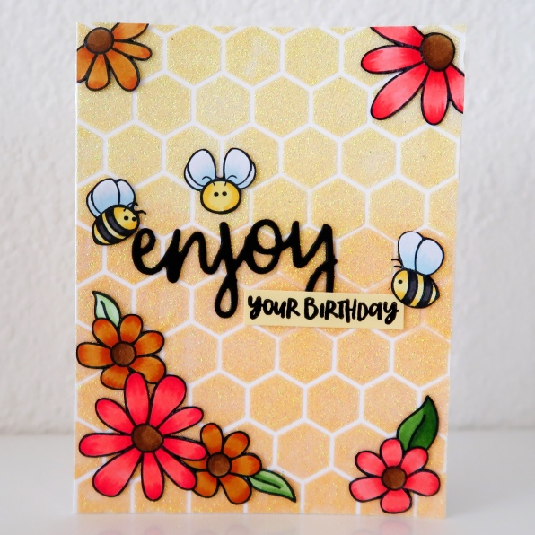 023_Honey Bee Stamps_White