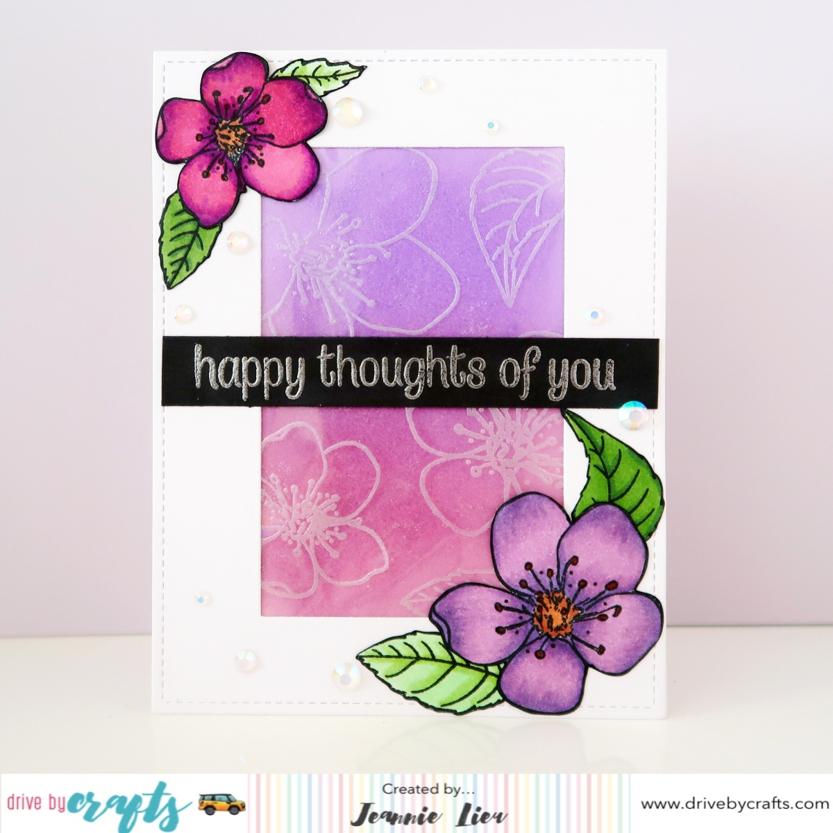 022_Honey Bee Stamps_Spring Blossums_Watermarked